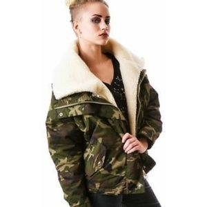 cd8c1fecf0722 Women's Camo Print Jackets | Poshmark